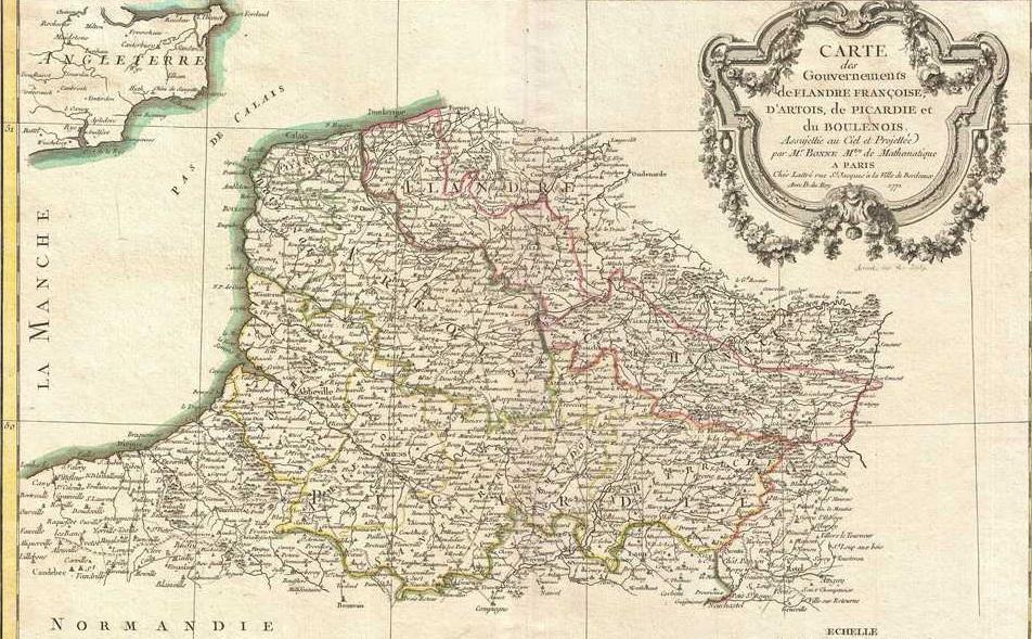 L'histoire de la Picardie
